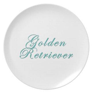 Golden Retriever Plates