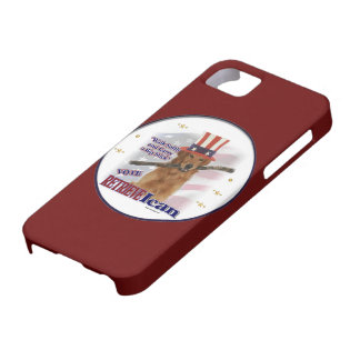 Golden Retriever Political Humor iPhone SE/5/5s Case