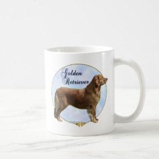 Golden Retriever Portrait Coffee Mug