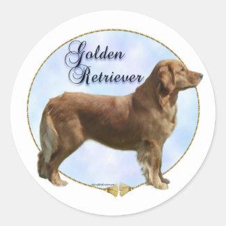 Golden Retriever Portrait Sticker
