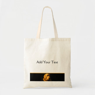 Golden Retriever Portrait Tote Bag