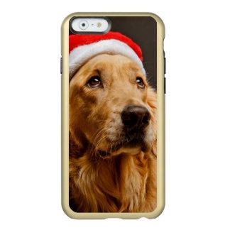 Golden Retriever posing for his Christmas Incipio Feather® Shine iPhone 6 Case