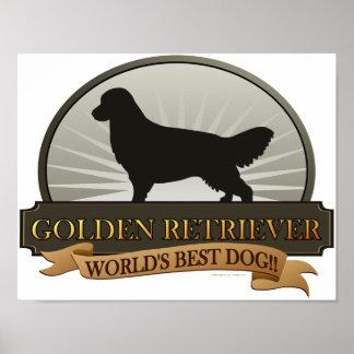 Golden Retriever Posters