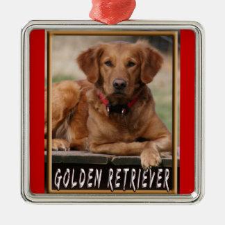 Golden Retriever Premium Christmas Ornament