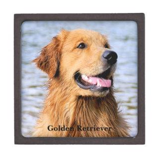 Golden Retriever Premium Trinket Boxes