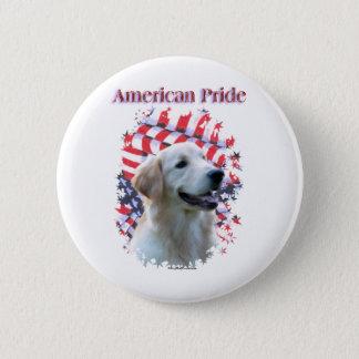 Golden Retriever Pride - Button