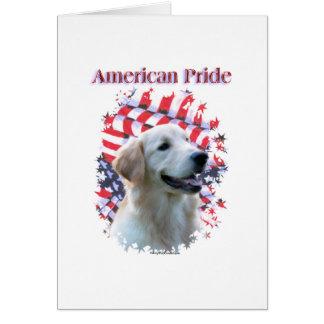 Golden Retriever Pride Card