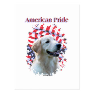 Golden Retriever Pride Postcard
