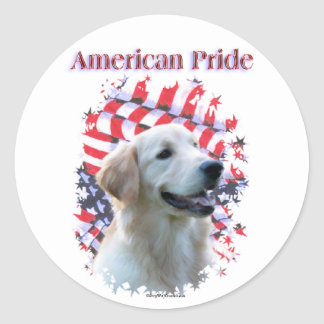 Golden Retriever Pride Stickers