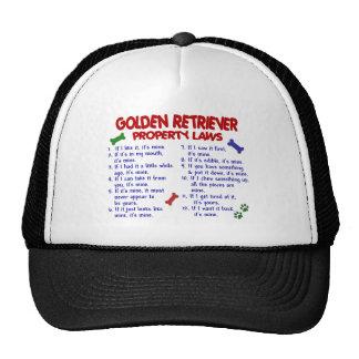 Golden Retriever Property Laws 2 Trucker Hat