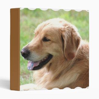 Golden Retriever Pup Binder