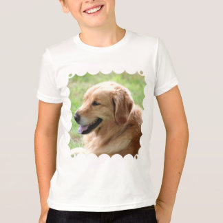 Golden Retriever Pup Kid's T-Shirt