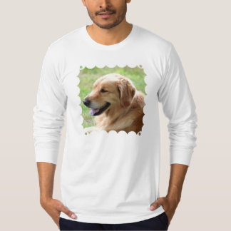 Golden Retriever Pup Men's Long Sleeve T-Shirt