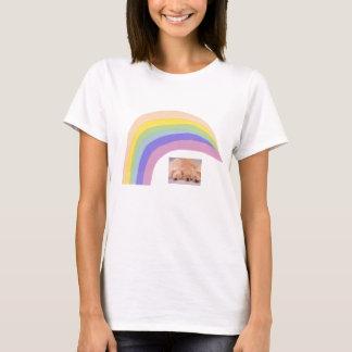 Golden Retriever Puppies Rainbow T-Shirt