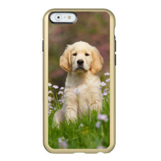 Golden Retriever puppy a cute Goldie Incipio Feather® Shine iPhone 6 Case