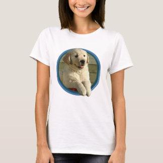 Golden Retriever Puppy Art T-Shirt