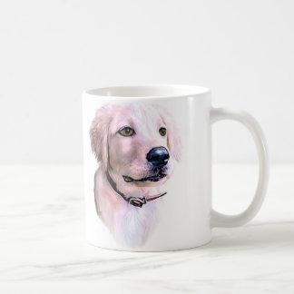 Golden Retriever Puppy Classic White Coffee Mug