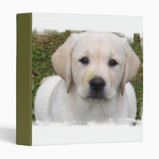 Golden Retriever Puppy Dog Binder