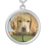 Golden Retriever Puppy Dog Canis Lupus Familiaris Custom Necklace
