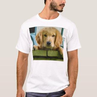 Golden Retriever Puppy Dog Canis Lupus Familiaris T-Shirt