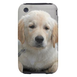Golden Retriever puppy dog cute beautiful photo Tough iPhone 3 Case