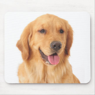Golden Retriever Puppy Dog Love Mouse Pad