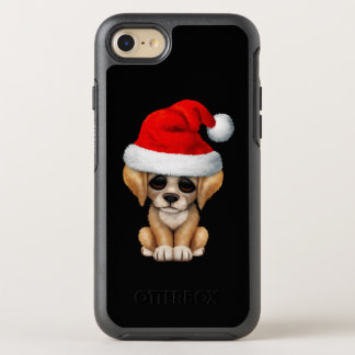 Golden Retriever Puppy Dog Wearing a Santa Hat OtterBox Symmetry iPhone 8/7 Case
