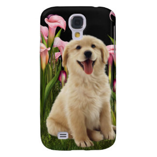 Golden Retriever Puppy i Samsung S4 Case