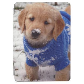 Golden Retriever Puppy iPad Air Cover