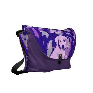 Golden Retriever Puppy Messenger Bag