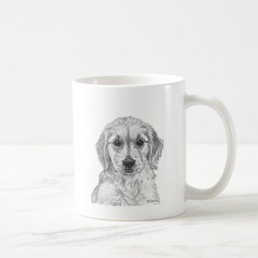 Golden Retriever Puppy Mugs