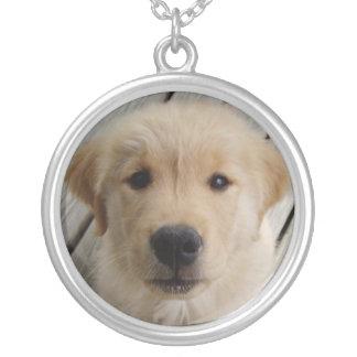 Golden Retriever Puppy Custom Necklace