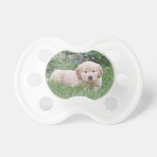 Golden Retriever Puppy Baby Pacifiers