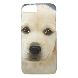 Case-Mate Barely There iPhone 7 Case with Golden Retriever Phone Cases design