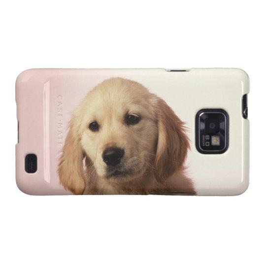 Golden Retriever Puppy Samsung Galaxy SII Cover