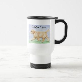 Golden Retriever Puppy  Travel Mug