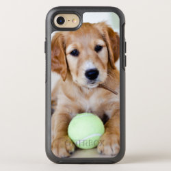 OtterBox Apple iPhone 7 Symmetry Case with Golden Retriever Phone Cases design