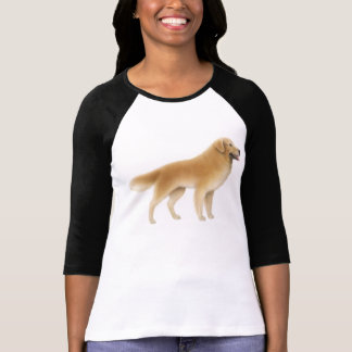 Golden Retriever Raglan Jersey T-Shirt