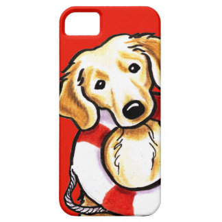 Golden Retriever Rescue iPhone 5 Cover