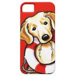Golden Retriever Rescue iPhone 5 Cases