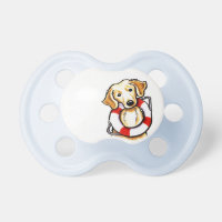 Golden Retriever Rescue Pacifier