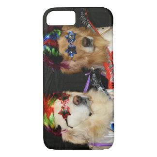 Golden Retriever Rock Stars iPhone 8/7 Case