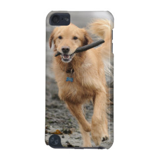 Golden Retriever Running With  Stick In Mouth iPod Touch 5G Cover