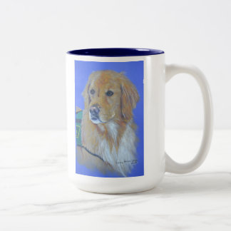 Golden Retriever Service Dog Mug