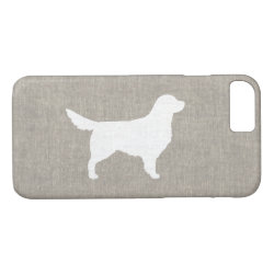 Golden Retriever Silhouette iPhone 8/7 Case