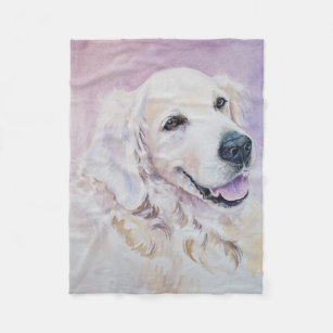 Make Your Own Golden Retriever Blanket Bundle Up In