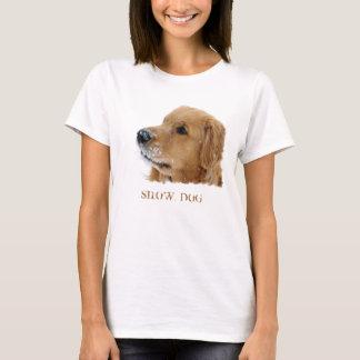 Golden Retriever Snow Dog Shirt