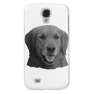 Golden Retriever Stylized Image Galaxy S4 Cover