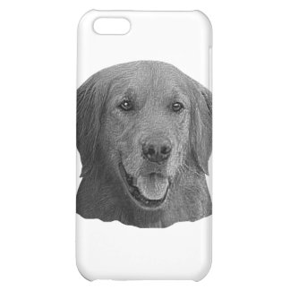 Golden Retriever Stylized Image iPhone 5C Cover