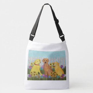 Golden Retriever Sunshine Crossbody Bag